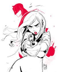 Daredevil fanart by KarlaDiazC