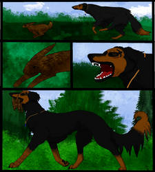 Stian's Hunt by LoneShadowWolf