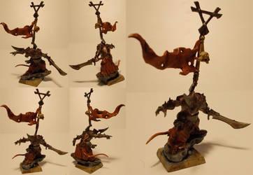 Speedpainted Skaven Warlord by Talancir