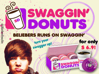 'The SWAGGIN' Donuts' by BieberzTiara143