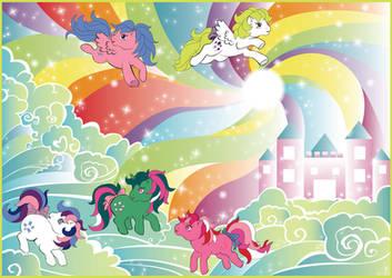 Rainbow Swirl by Dinogomonni