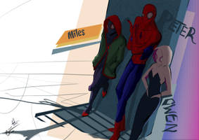 Spider verse by PhenkyStephen