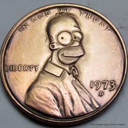 Homer Cent by shaun750