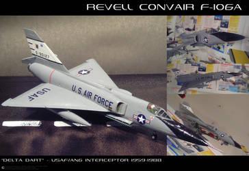 F-106A Delta Dart by JamieTakahashi