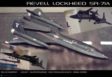 SR-71A Blackbird by JamieTakahashi