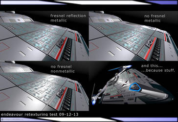 Endeavour Retexturing Test 09-12-13 by JamieTakahashi