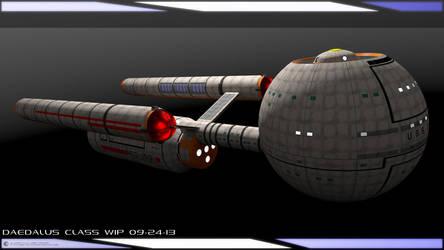 Daedalus Class WIP 09-24-13 by JamieTakahashi