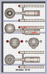 Daedalus Class Schematics by JamieTakahashi