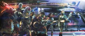 Citadel crew by brinx-II