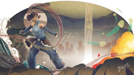 Avatar Korra. by brinx-II