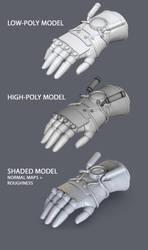 Asami's Electrified glove - Steps by brinx-II
