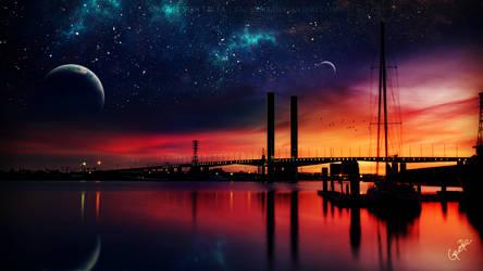 Enchanted twilight ~ Daily Deviation by Ellysiumn