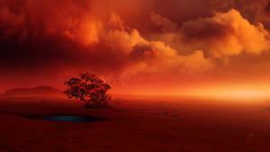 Intense twilight by Ellysiumn