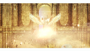 The temple of angels by Ellysiumn