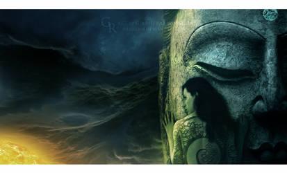 Prayers in the shadows by Ellysiumn