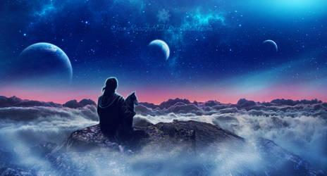 My haven of peace II by Ellysiumn