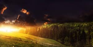 Beyond the sun by Ellysiumn