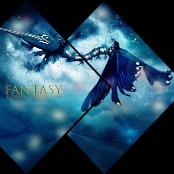 Fantasy ~ mosaic by Ellysiumn