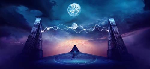 Cosmic Triad #Daily 3 by Ellysiumn