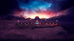The labyrinth by Ellysiumn