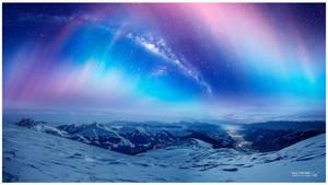 Dawn under the stars #Daily 21 by Ellysiumn