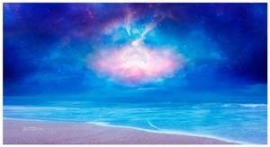 A beach in the cosmos #Daily 29 by Ellysiumn