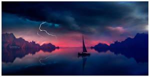 Calm waters by Ellysiumn