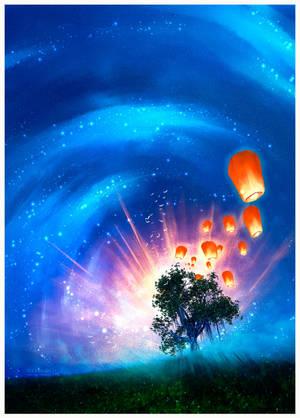 Symphony of light by Ellysiumn