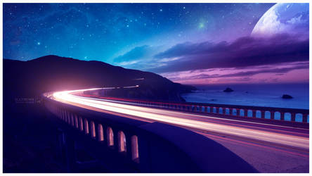 Road to infinity by Ellysiumn