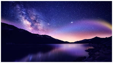 Stars everywhere by Ellysiumn