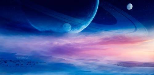 Universe of dreams by Ellysiumn