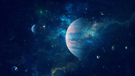 Magic dust of stars by Ellysiumn