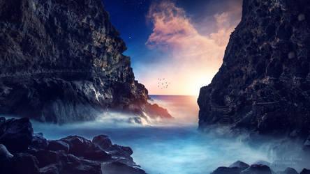 Enchanted blue by Ellysiumn