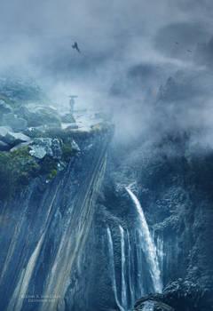 The gorge path by Ellysiumn