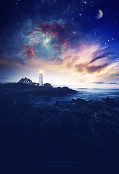 The lighthouse by Ellysiumn