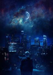Hypnotic moon by Ellysiumn