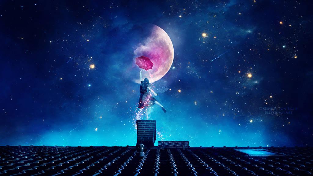 Звёздное небо и космос в картинках - Страница 6 Magical_umbrella_by_ellysiumn_dcwsfrf-fullview
