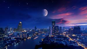 Vibrant lights 4k by Ellysiumn