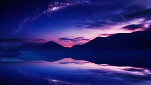 Starry twilight by Ellysiumn