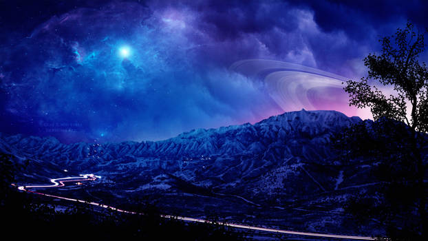 Between clouds by Ellysiumn