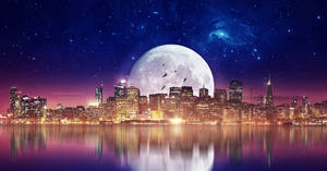 City of the moon by Ellysiumn