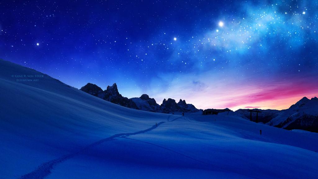 Звёздное небо и космос в картинках - Страница 10 Waiting_for_the_sun_by_ellysiumn_dczi8ng-fullview