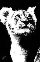 Simba by benjonesart
