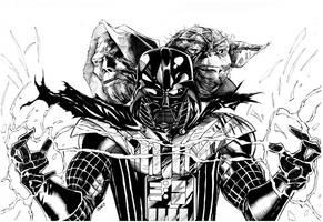 Vader completed by benjonesart
