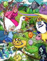 ADVENTURE TIME by Fred-Weasley