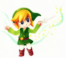 Wind Waker Link by Fred-Weasley
