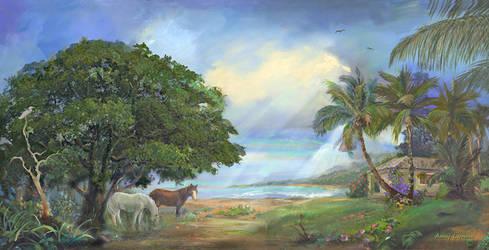 Kekaha Morning by amylynne99