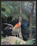 Wild Kauai Rooster by amylynne99