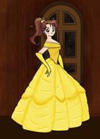 Makoto 'Lita' as Belle by FalseDisposition