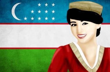 ASIA: Uzbekistan by FalseDisposition